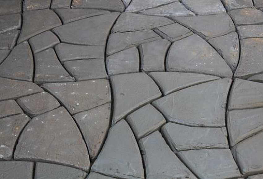 Дорожка своими руками из бетона и формы