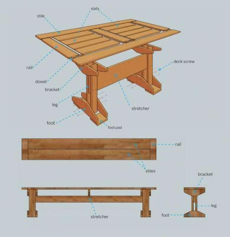 picn02_thumb Стол скамейка своими руками. 800 фото, чертежи, пошаговые инструкции
