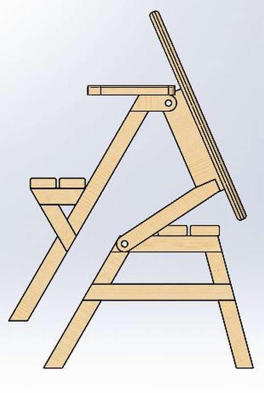 orql09_thumb Стол скамейка своими руками. 800 фото, чертежи, пошаговые инструкции