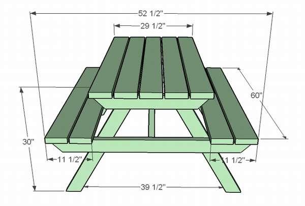 qwer02_thumb Стол скамейка своими руками. 800 фото, чертежи, пошаговые инструкции